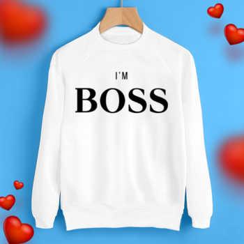 Свитшот I'm boss