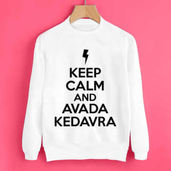 Keep calm and avada kedavra