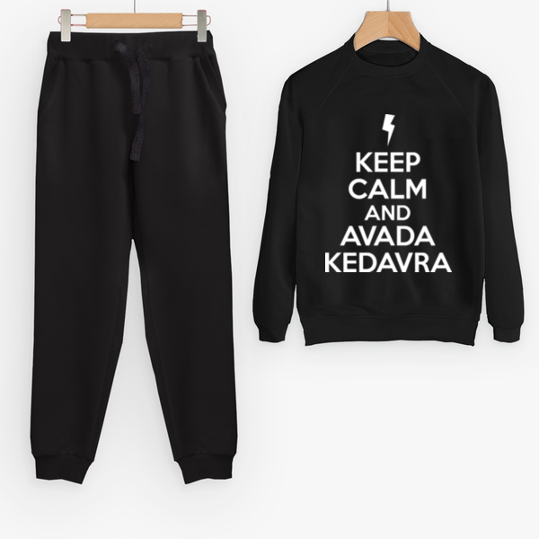 Костюм Keep calm and avada kedavra