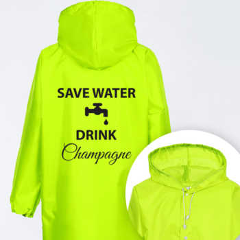 Save water drink champagne 2